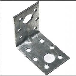 Уголок крепежный 50х50х35х2 мм усиленный стальной