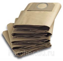 Бумажные фильтр-мешки (для WD 3.200; 3.300; 3.500; SE 4001; 4002)