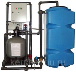 Установка очистки и рециркуляции воды СОРВ-2/500-Р