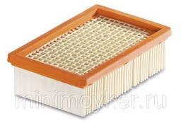 Плоский складчатый фильтр для пылесосов (MV 4, 4 Premium, 5, 5 Premium, 6P Premium)