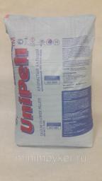 Хлористый кальций кальцинированный 94-98% (мешок 25 кг).