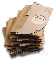 Бумажные фильтр-мешки (для WD 2.200, MV2)
