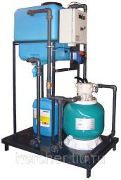 Система очистки воды для автомоек СОРВ-1/120-Р-Д