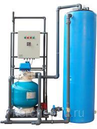 Установка очистки и рециркуляции воды СОРВ-2/400-Р-АП