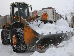 Уборка и вывоз снега, Уборка наледи с крыш
