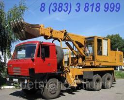 Прокат экскаватора-планировщика УДС-114