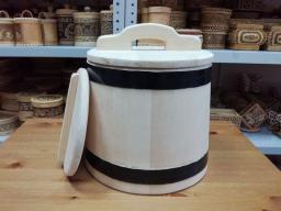 Кадушка деревянная для засолки 10 литров