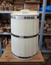 Бочка деревянная для воды 100 литров. Бочка для бани
