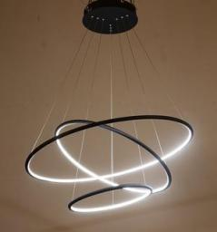 Светодиодная люстра LC-011-AC14-R01 (144W, Day White) свечение внутрь