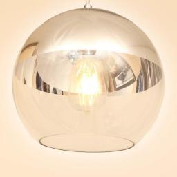 Стеклянная люстра абажур (220V, E27)