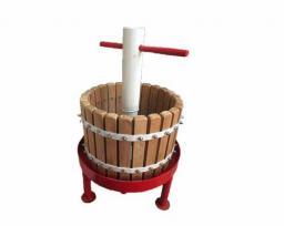Пресс для винограда Кубанец дубовый, винтовой 15 литров