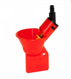 Поилка микрочашечная ПП-01 с резиновым клапаном (с гребешком)