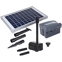 Фонтанная установка на солнечной батарее