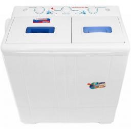 Машина стиральная-полуавтомат ВОЛТЕРА ВТ-СМП4ДRU (Помощница-2М)  цвет бака белый