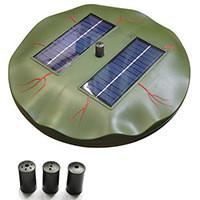 Плавающий фонтан на солнечной батарее