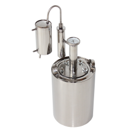 Дистиллятор бытовой Уралец 12 литров  (Царга,Сухопарник,Охлодитель)