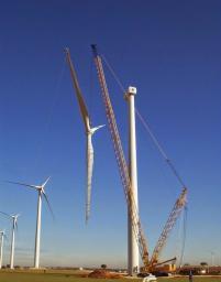 Сборка ветрогенераторов, строительство ветропарков Астана, Алматы, Актау