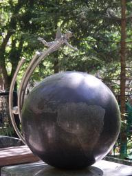 Памятник Ивану Бойко, бронза, сталь, гранит