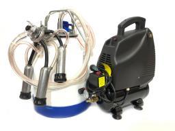 Доильный аппарат для коров МДА 6 до 5-ти голов, без масляный, полипропилен 30 л