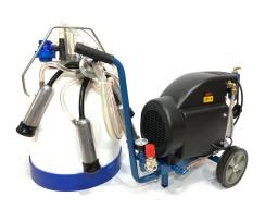 Доильный аппарат для коров МДА 1М-10 до 10-ти голов, масляный, полипропилен, 30 л