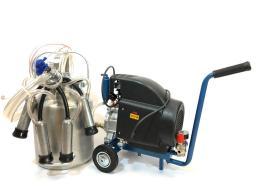 Домашний доильный аппарат для коров МДА 1М-10, до 10-ти голов,  масляный