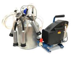 МДА 1М-5,  доильный аппарат для коров, к/т (до 5 гол), масляный (алюминий)
