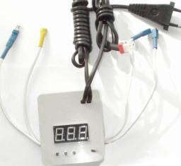 Терморегулятор цифровой+гигрометр , автомат,220В, (арт.38Г,59Г,60Г)