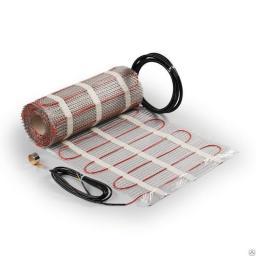 Теплый пол электрический нагревательный мат S=1 кв.метра под плитку