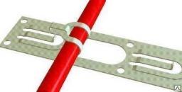 Монтажная лента для греющего кабеля теплого пола