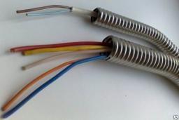 Металлорукав из нержавеющей стали AISI-430 для кабеля