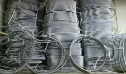 Металлорукав 12 мм из нержавеющей стали AISI-430 для кабеля