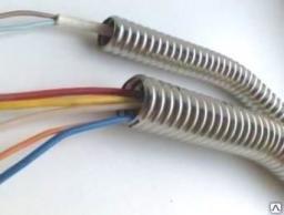 Металлорукав 15 мм герметичный гофрированный нержавеющий для электрокабеля