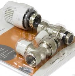 Термостатический комплект для радиатора (БЫСТРОГО МОНТАЖА) RVKD208.02