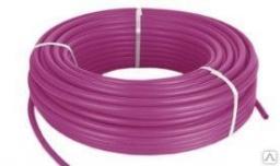 Труба из сшитого полиэтилена для тёплого пола TPEX 2028-100 Pink