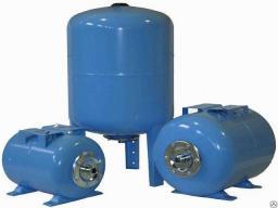 Гидроаккумулятор синий VT-50 литров для воды
