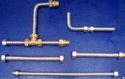 Сильфонная трубка для воды колонки газовой