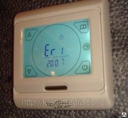 Терморегулятор программируемый Е 91.716 сенсорный для отопления
