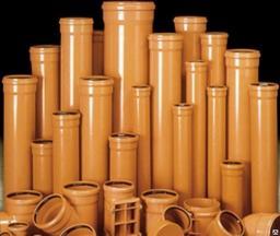 Труба 110*2,0м НПВХ канализационная рыжая стенка-3,2мм