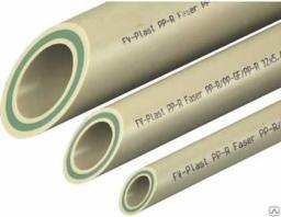 Труба полипропиленовая 40 мм армированное стекло FV-plast для отопления