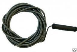 Трос для прочистки труб сантехнический 2,5 м. канализационный, эконом