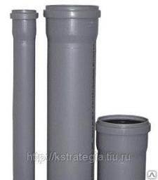 Канализационная труба диаметром 50 мм длиной 2 метра