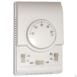 Термостат настенный NTL-1000 с регулятором скорости вращения вентилятора
