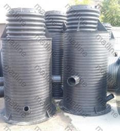 Колодец канализационный пластиковый диаметр от 630 до 2400