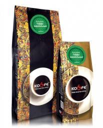 Ароматизированный кофе Тоффи Карамельный (1 кг, Марагоджип, в зернах)