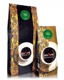 Ароматизированный кофе Лимон (1 кг, Марагоджип, в зернах)