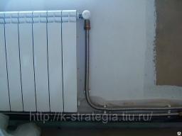 Гофрированная нержавеющая труба для подключения радиаторов отопления