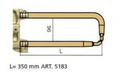 Комплект плеч с водяным охл.L=350мм,D=20мм TECNA 5183