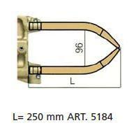 Комплект плеч с водяным охл.L=250мм,D=20мм - TECNA 5184