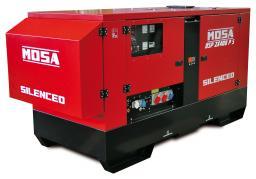 Агрегат сварочный, универсальный, дизельный - MOSA DSP 2x400 PS