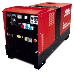 Агрегат сварочный, универсальный, дизельный - MOSA DSP 600 PS
